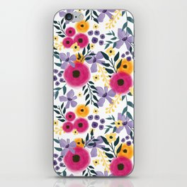 Spring Floral Bouquet iPhone Skin