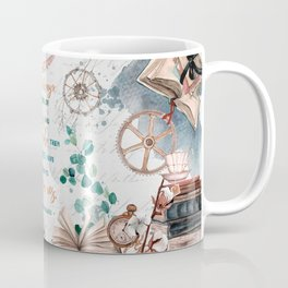 Be careful of books Coffee Mug