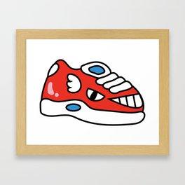 Shoe Gummy Framed Art Print