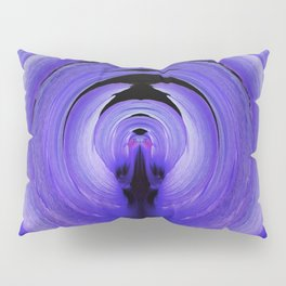 3-D Purple Winged Hibiscus v.3 Pillow Sham