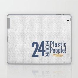 24 Hour Plastic People Laptop & iPad Skin
