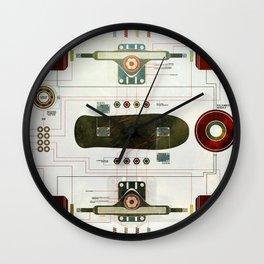 The Anatomy of a Skateboard Wall Clock