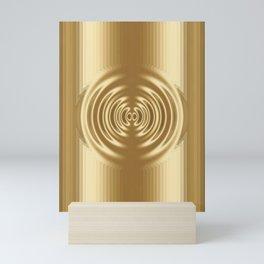 Golden Circle Mini Art Print