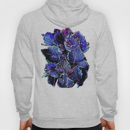 Rime Leaves Abstract Hoody