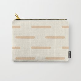 Line by Line Neutral Carry-All Pouch