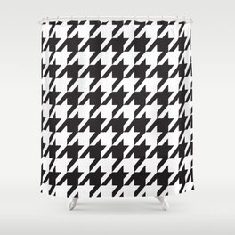 Houndstooth Retro #77 Shower Curtain
