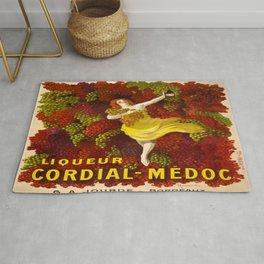 Vintage poster - Liqueur Cordial-Medoc Rug