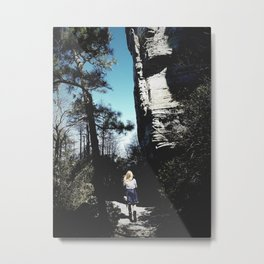 Alone to Explore Metal Print