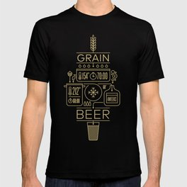 Beer Brewing Explained T-shirt