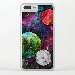 A Galaxy Far Away Clear iPhone Case