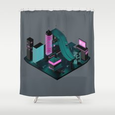 Nippon 2061 Shower Curtain