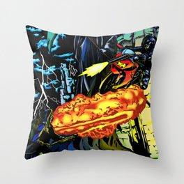 Ninjapocalypse Throw Pillow