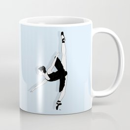 Blue Dancer Coffee Mug
