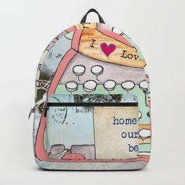 Typewriter #7 Backpack