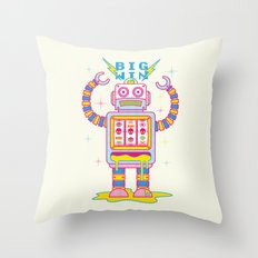VEGASBOT 7000 Throw Pillow