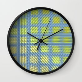 Pointed Pattern Wall Clock
