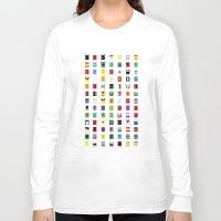 minimalism Long Sleeve T-shirts featuring Minimalism SH by Fabian Gonzalez