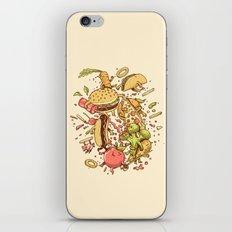 Food Fight iPhone & iPod Skin