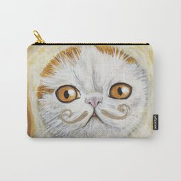 Snoopy aka Breadcat - Cats with Moustaches Carry-All Pouch