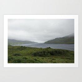 Fog of Ireland Art Print