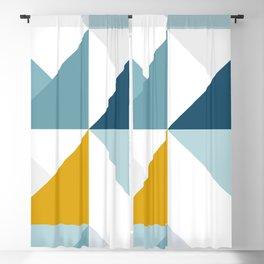 Modern Geometric 18/3 Blackout Curtain