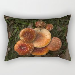 The poisoned beauty Rectangular Pillow