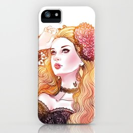 Agatha *GirlsCollection* iPhone Case