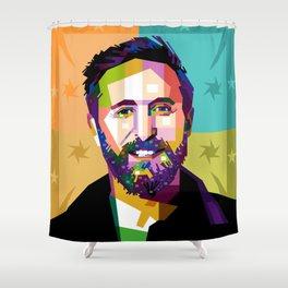 David Guetta Shower Curtain