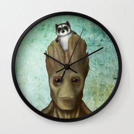 Adorable A**holes Wall Clock