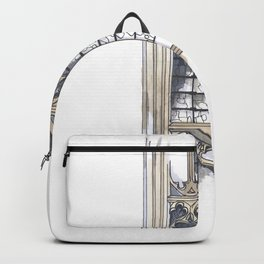 Bath Church Windows Backpack