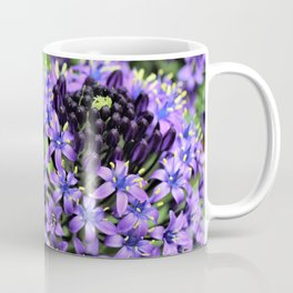 Purple Petals Coffee Mug