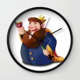 Rey de copas Wall Clock