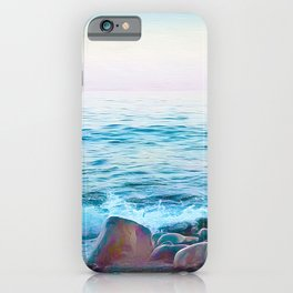 Hope on the Rocks iPhone Case