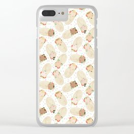 Baby Burrito Clear iPhone Case