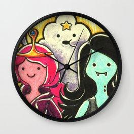 Ladies of Ooo Wall Clock