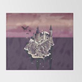Hogwarts series (year 5: the Order of the Phoenix) Throw Blanket