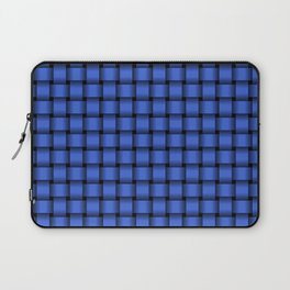 Small Royal Blue Weave Laptop Sleeve
