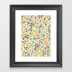 Autumn Blooms Framed Art Print