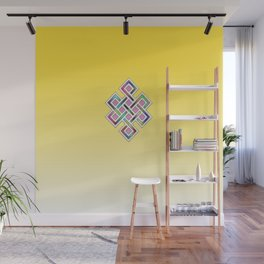 Limitless Infinity 2 (yellow) Wall Mural