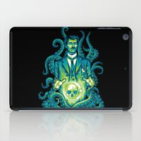 lovecraft iPad Cases featuring Everybody loves Lovecraft by David Maclennan