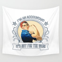 Librarian - Not for the weak Wall Tapestry