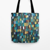 klimt Tote Bags featuring New Klimt  by Angela Capacchione