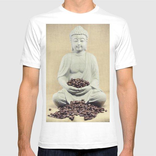 Coffee beans Buddha 3 T-shirt