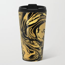 Black and Gold Marble Edition 2 Travel Mug