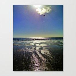 Oneroa Beach Waiheke Island New Zealand Canvas Print