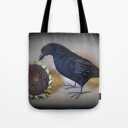 Corvid the Crow Tote Bag