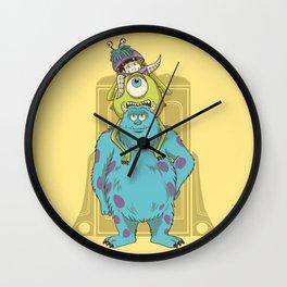 Monster Inc. Wall Clock