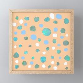 Meteorites S15 Framed Mini Art Print