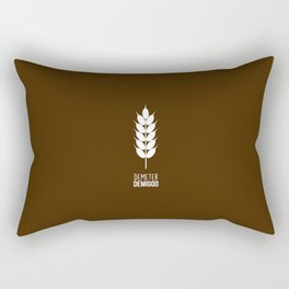 Demeter Demigod Rectangular Pillow