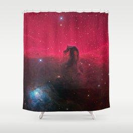 Horsehead Nebula Shower Curtain